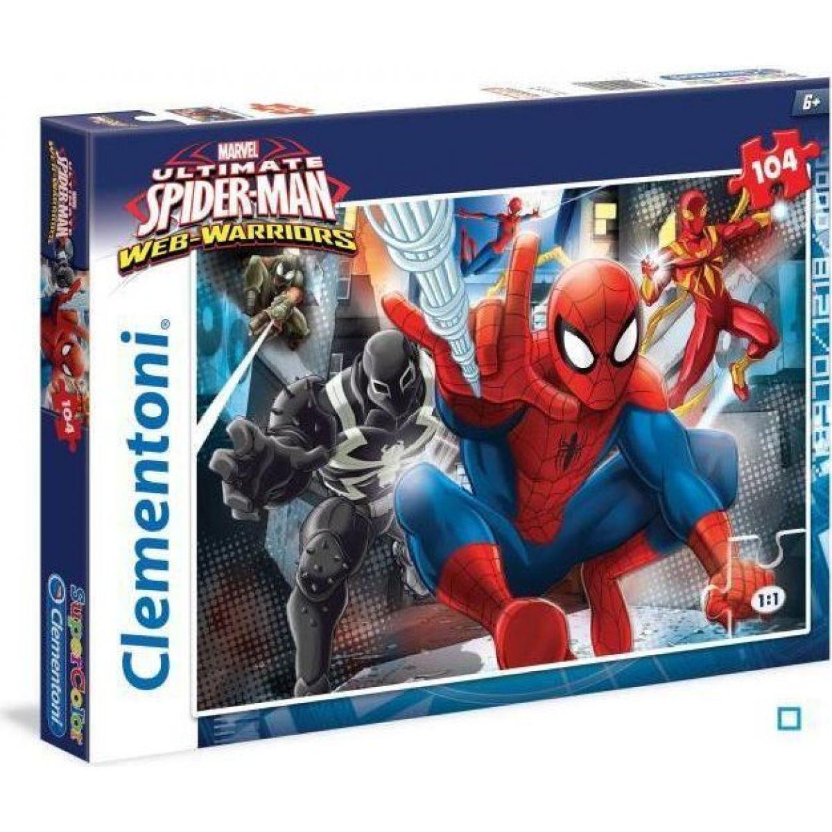 CLEMENTONI Spiderman: Bojovníci 104 dílků