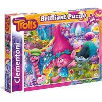 Clementoni 20144 Trolls brillant 104 ks