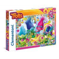Clementoni Trollové Supercolor Puzzle 104d