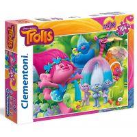 Clementoni Trollové Supercolor Maxi 104 dílků