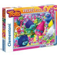 Clementoni Trollovia Velvet Puzzle 60 dielikov