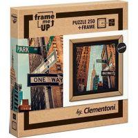 Clementoni Puzzle s rámčekom One way 250 dielikov