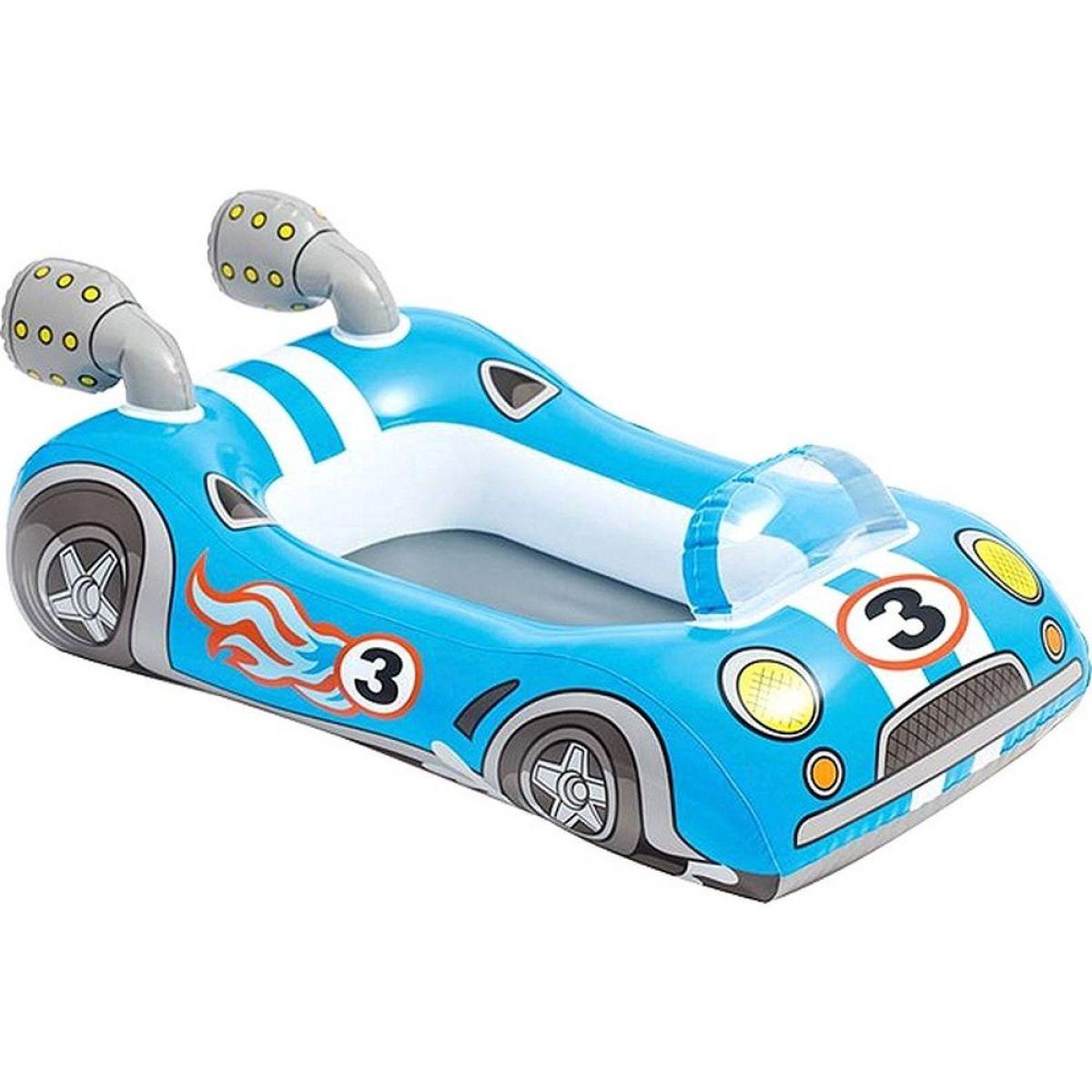 Čln detský Intex 59380 - Závodné auto modré
