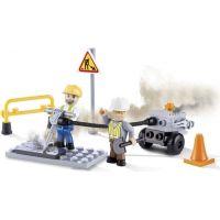 Cobi 1660 ACTION TOWN Stavba práce na silnici