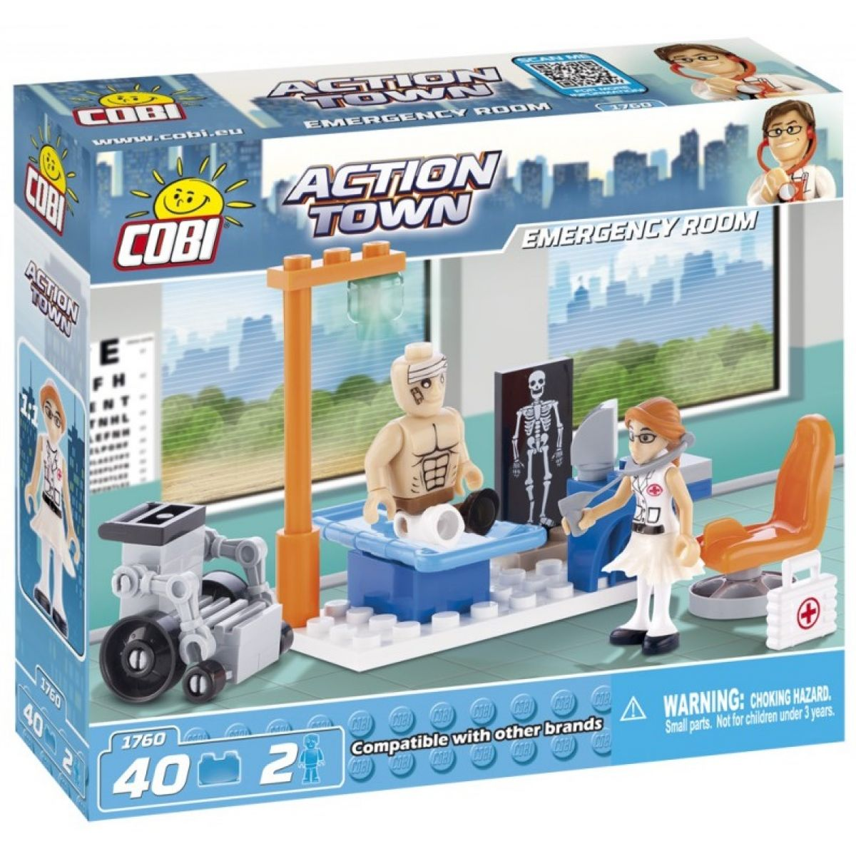 Cobi 1760 ACTION TOWN Pohotovost