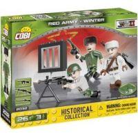 Cobi 2032 Malá armáda 3 figurky s doplňky Sovětská armáda zimní