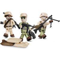 Cobi 2034 Malá armáda 3 figúrky s doplnkami Afrika Korps