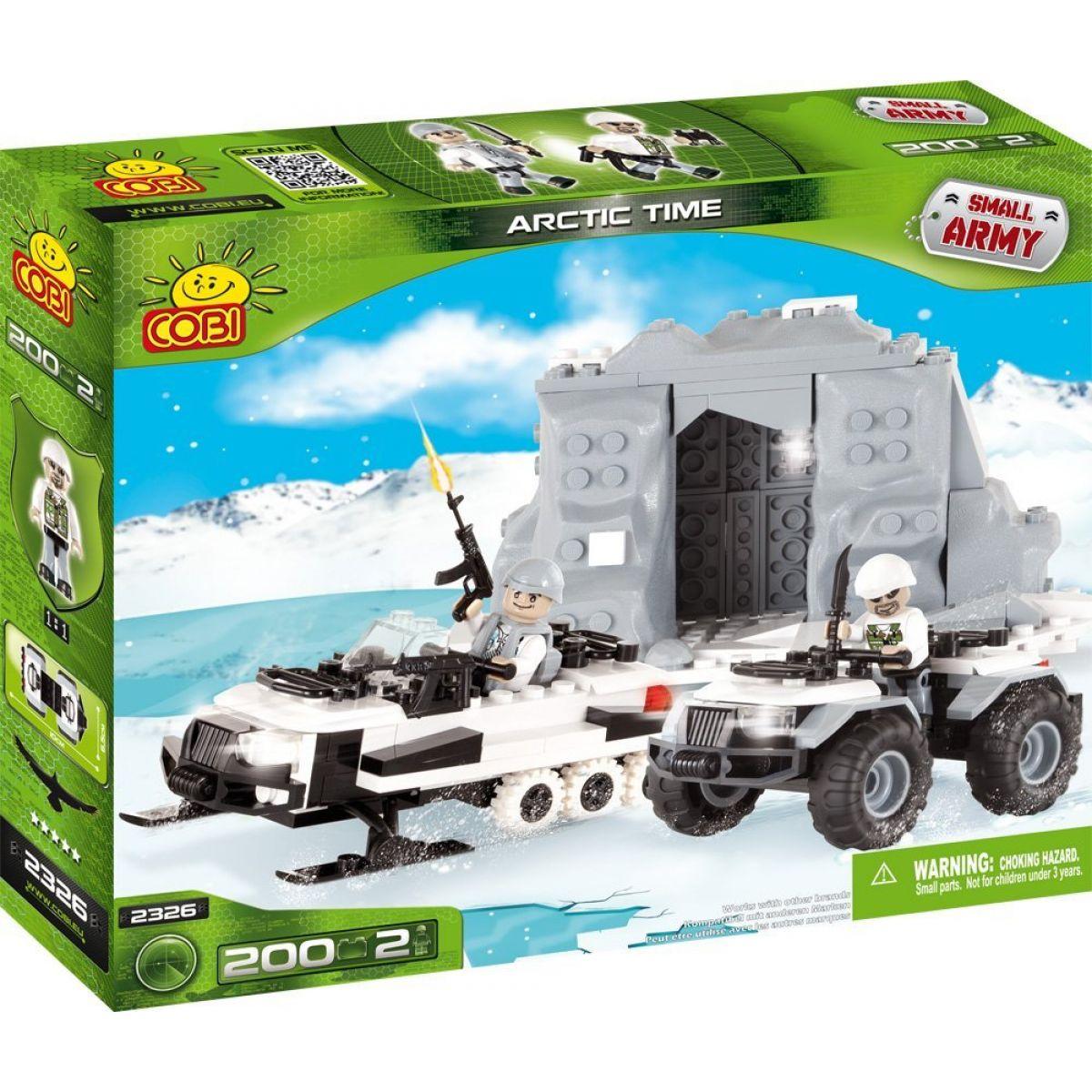 Cobi 2326 Small Army Polární jednotka ARCTIC TIME