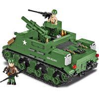 Cobi 2386 SMALL ARMY II WW M7 Priest 105 mm HMC, 500 k, 2 f