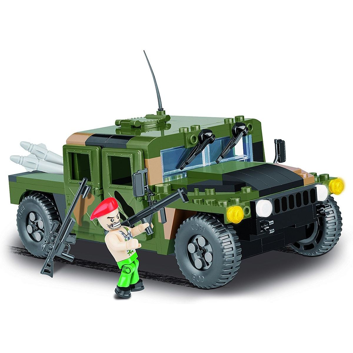 COBI 24304 Small Army NATO Armored vehicle 255 k, 1 f