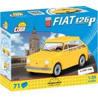Cobi 24530 Youngtimer Poľský Fiat 126p