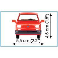 Cobi 24531 Youngtimer Malý FIAT 126p 1994-1999 1:35 2