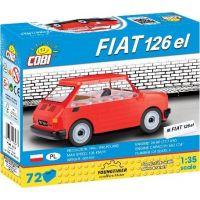 Cobi 24531 Youngtimer Malý FIAT 126p 1994-1999 1:35 5