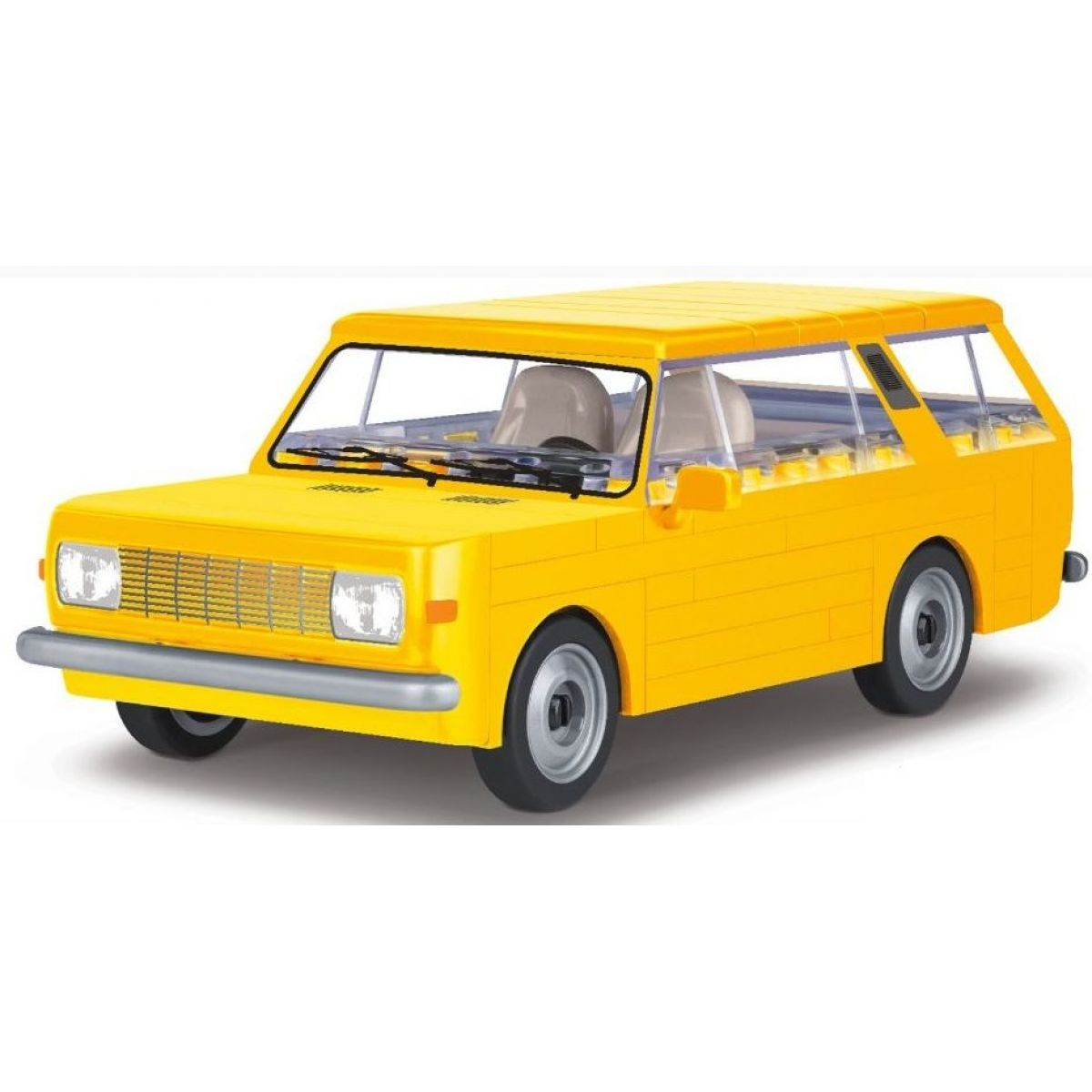 Cobi 24543 Youngtimer Wartburg 353 Tourist žltý