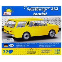 Cobi 24543 Youngtimer Wartburg 353 Tourist žltý 4