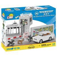 Cobi 24557 Youngtimer Trabant 601 bílý