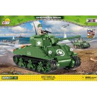 Cobi 2464A Malá armáda Sherman M4A1