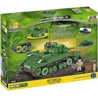 Cobi 2521 Malá armáda II. svetová vojna Infantry Tank Mk. III Valentine 5