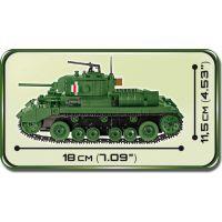 Cobi 2521 Malá armáda II. svetová vojna Infantry Tank Mk. III Valentine 3