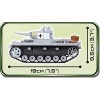 Cobi 2523 Malá armáda II. svetová vojna Panzer III Ausf E 3