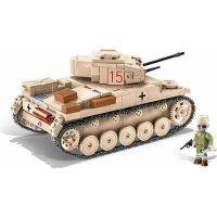 Cobi 2527 Malá armáda II. svetová vojna SD.KFZ.121 Panzer II Ausf. F