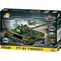 COBI 2612 Small Army Tank PT91 twarda, 535 k, 2 f 4