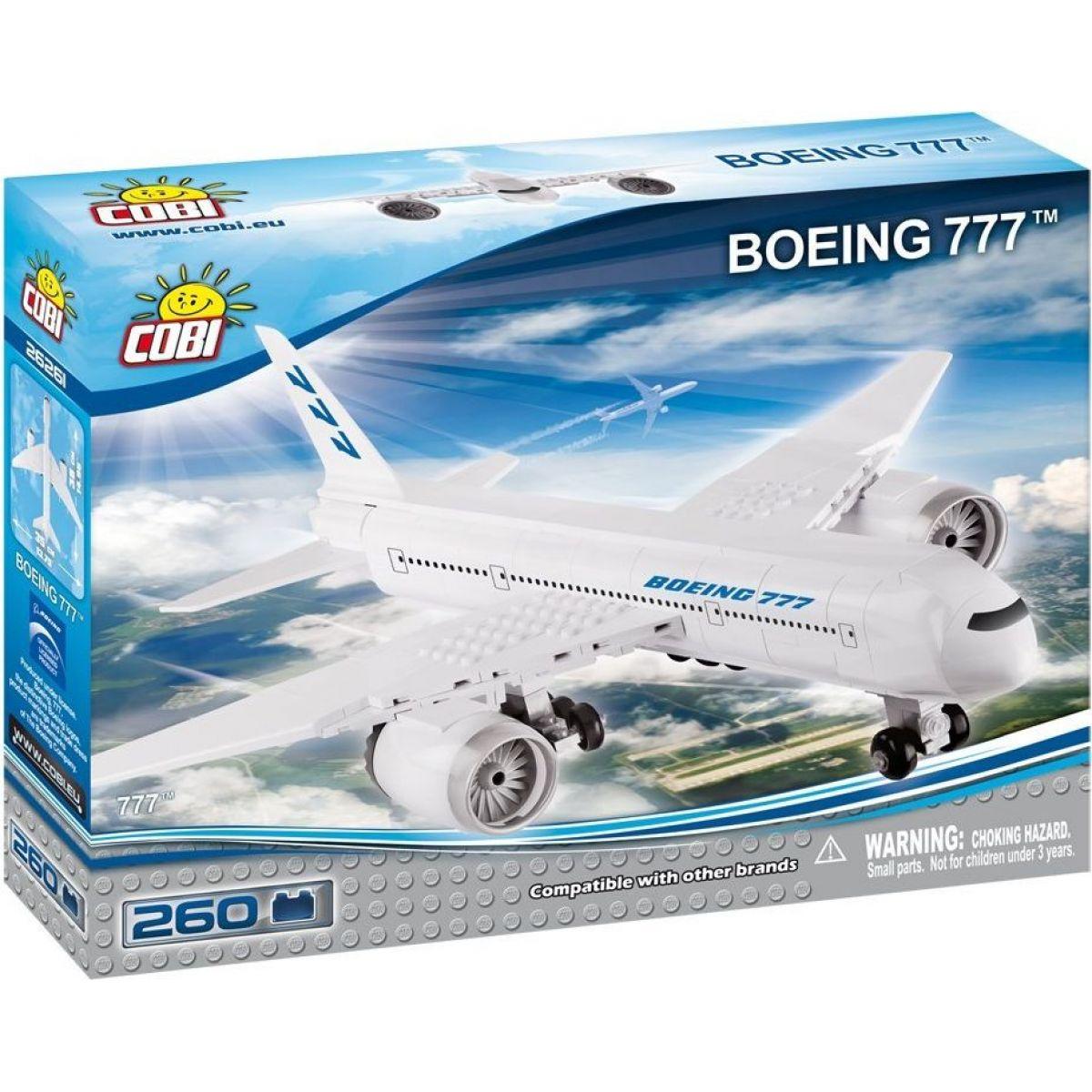Cobi 26261 Boeing 777 260 dílků
