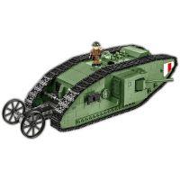 COBI 2972 Great War Tank Mark I, 600 k, 1 f