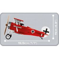 Cobi 2974 Great War Fokker Dr. 1 RED BARON 5