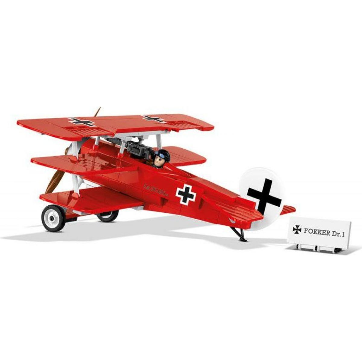 Cobi 2974 Great War Fokker Dr. 1 RED BARON