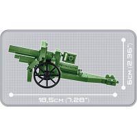 Cobi 2981 Malá armáda 155mm Field Howitzer 1917 4