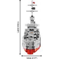 Cobi 3080 World of Warships – ORP Blyskawica, 1:200, 680 k 4