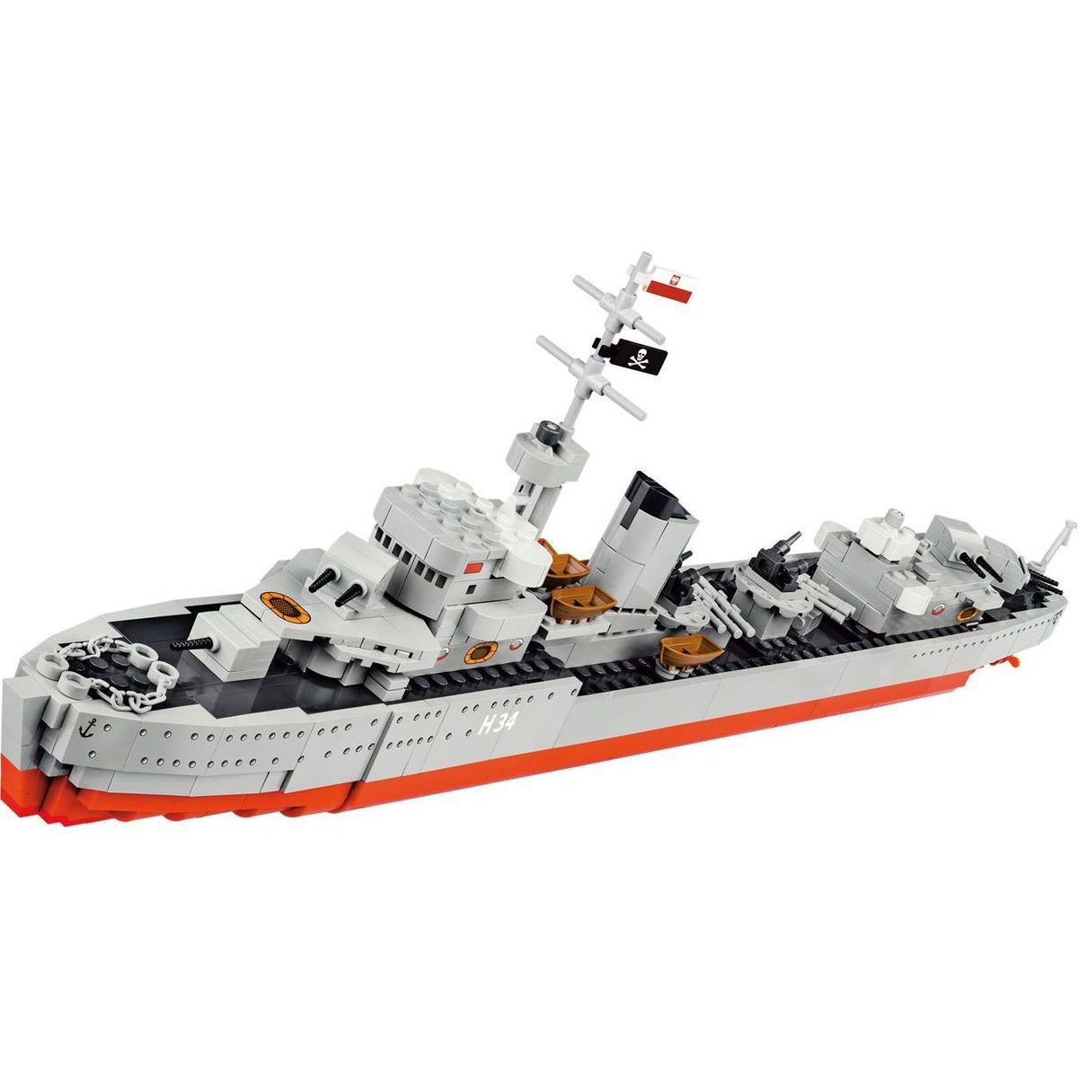 Cobi 3080 World of Warships – ORP Blyskawica, 1:200, 680 k