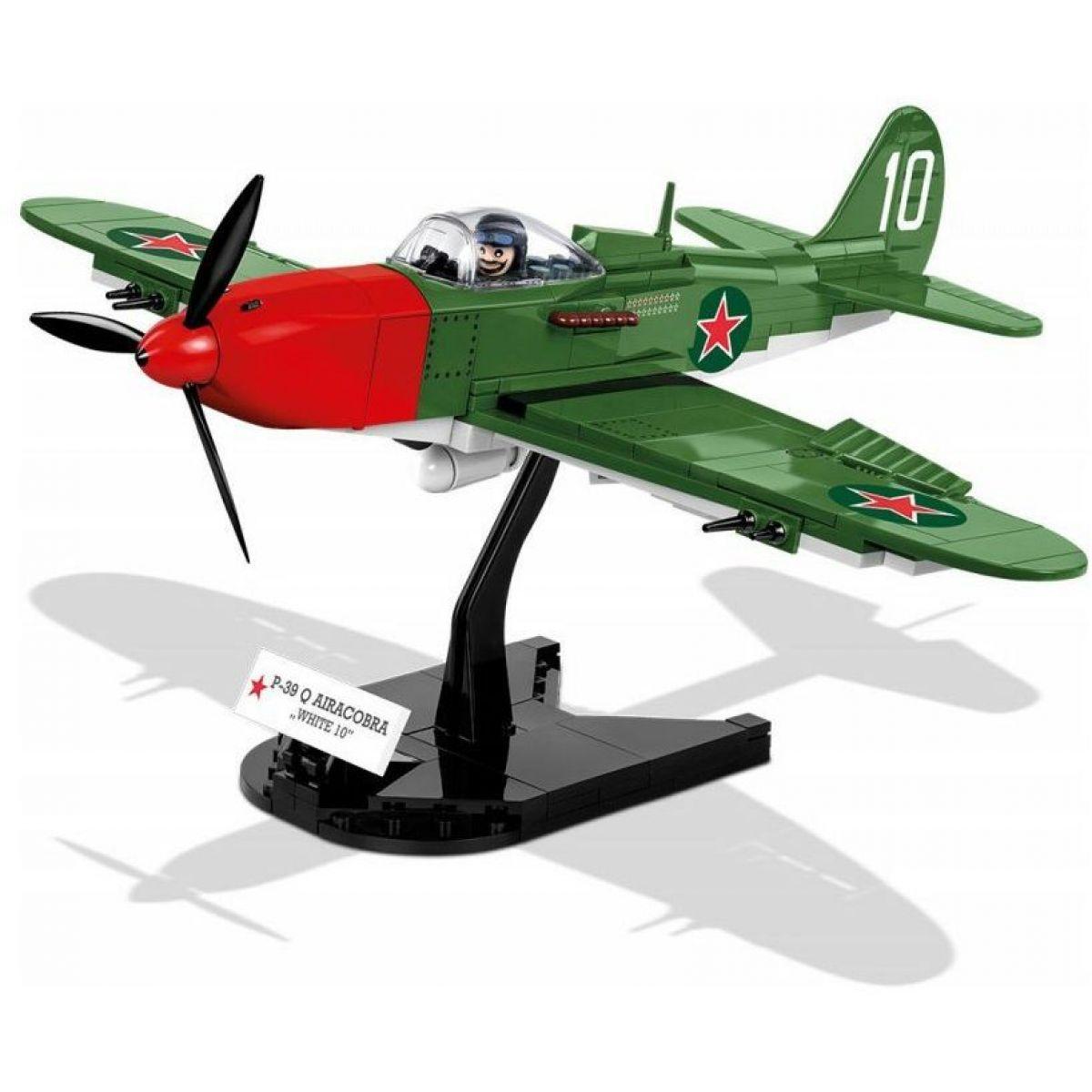 Cobi 5547 Malá armáda II. svetová vojna P-39 Airacobra white 10