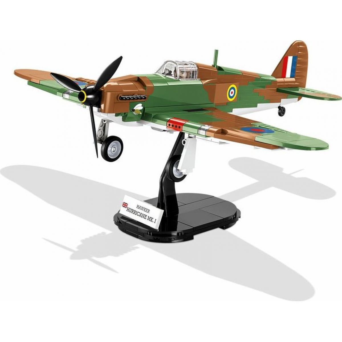 Cobi 5709 Malá armáda II. svetová vojna Hawker Hurricane MK I 270 k