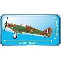 Cobi 5709 Malá armáda II. svetová vojna Hawker Hurricane MK I 270 k 4