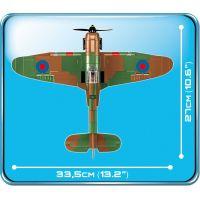 Cobi 5709 Malá armáda II. svetová vojna Hawker Hurricane MK I 270 k 5