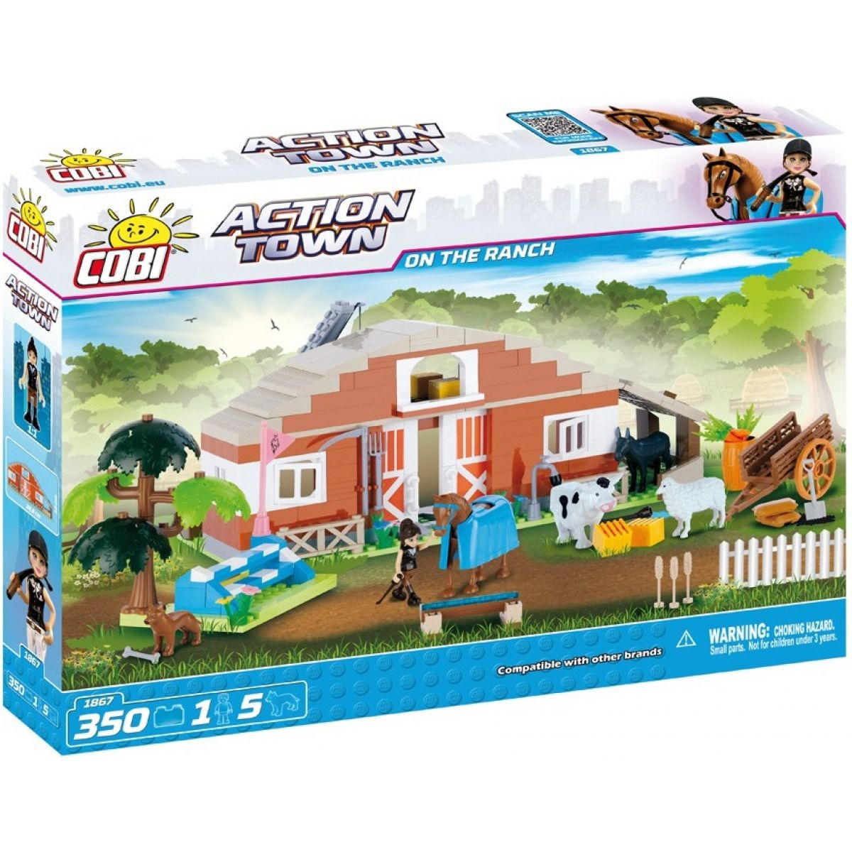 COBI 1867 ACTION TOWN Farma stajne