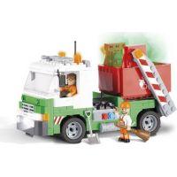 COBI 1781 ACTION TOWN Popelářské auto s kontejnerem