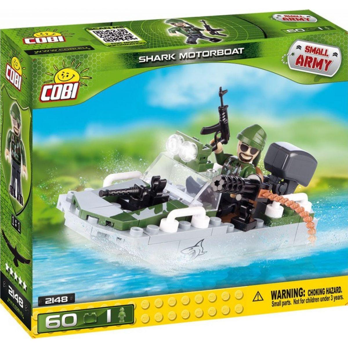 Cobi 2148 Small Army Motorový člun Shark