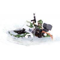 Cobi 2148 Small Army Motorový člun Shark 3