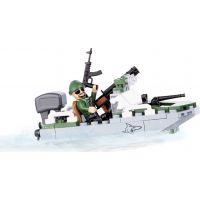Cobi 2148 Small Army Motorový člun Shark 4