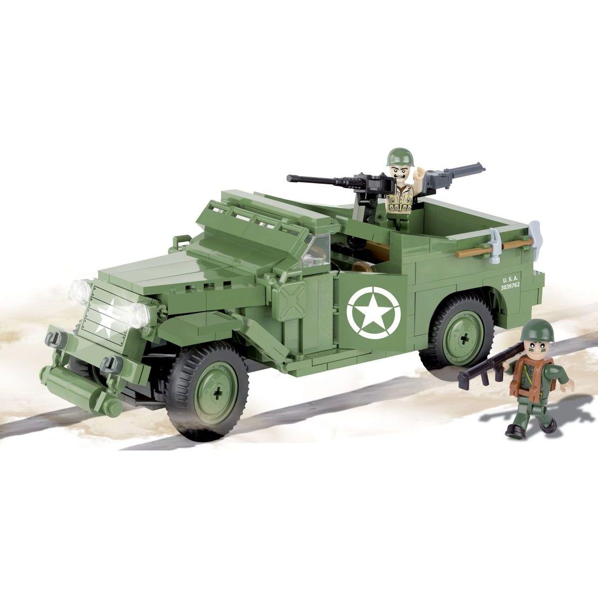 Cobi 2368 SMALL ARMY II WW M3 Scout Car