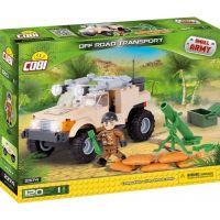 Cobi 2374 Small Army Terénne vozidlo 2