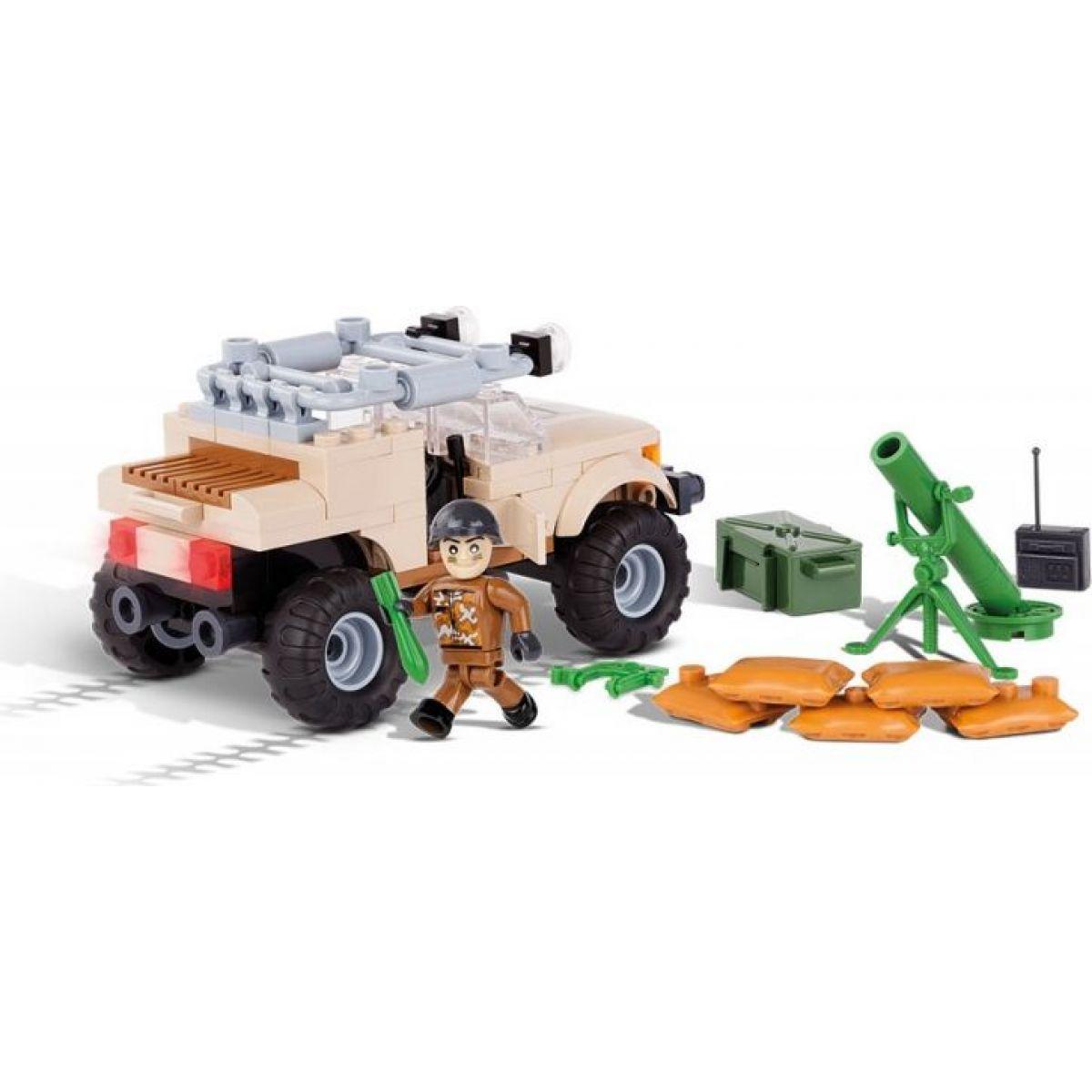 Cobi 2374 Small Army Terénne vozidlo