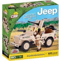 Cobi 24093 JEEP Willys MB severní Afrika