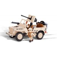 Cobi 24093 JEEP Willys MB severní Afrika 2