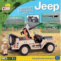 Cobi 24093 JEEP Willys MB severní Afrika 3