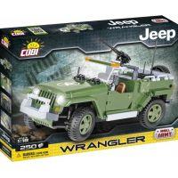 Cobi 24260 SMALL ARMY JEEP Wrangler vojenský