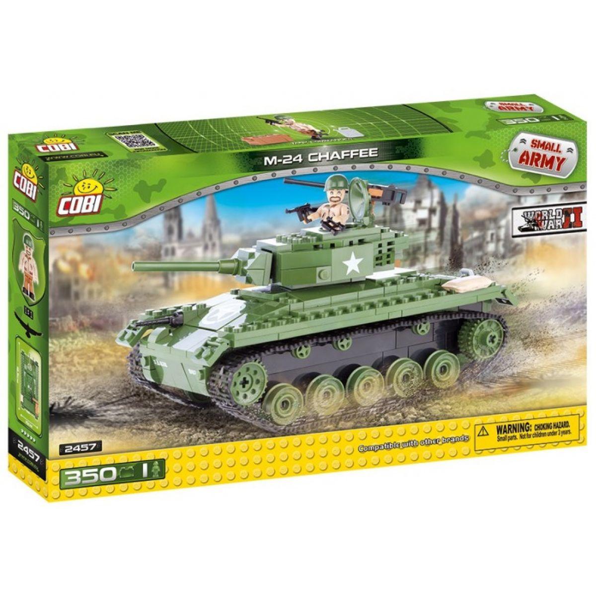 Cobi 2457 II. světová válka Tank M24 CHAFFEE